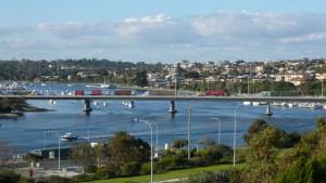 Fremantle : vue d'un quatier résidentiel