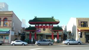 Entrée historique du Chinatown