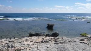L'océan, pur et clair